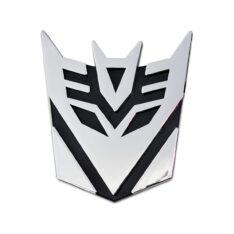 Transformers Decepticon Small Badges Emblem Sticker Graphics Decal