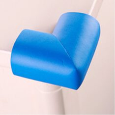 Safe Baby & Child safety edge corner cushion guard. - Furniture Babyproofing Protectors . Toddlers Suited Adhesive - Blue